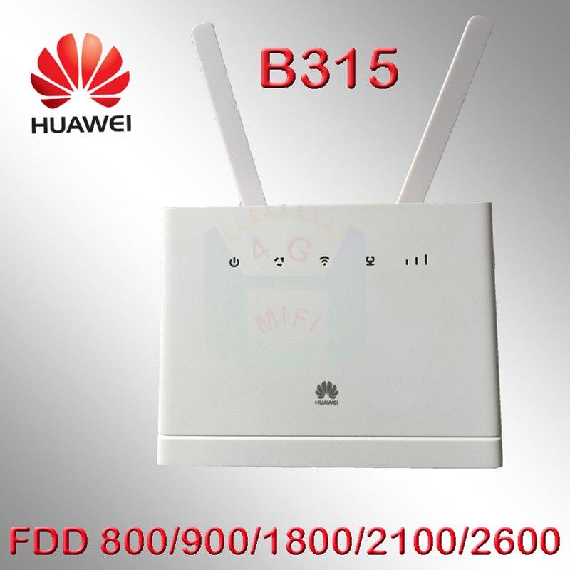 Débloqué huawei b315 B315S-22 LTE CPE 150 Mbps 4g LTE FDD sans fil passerelle Routeur wifi huawei b315s-22 4g lte routeur
