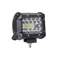 200W 4inch Triplex Work Light Automobile LED Bar Single Strip Spot Driving Illumination For Jeep Off-Road Vehicles
