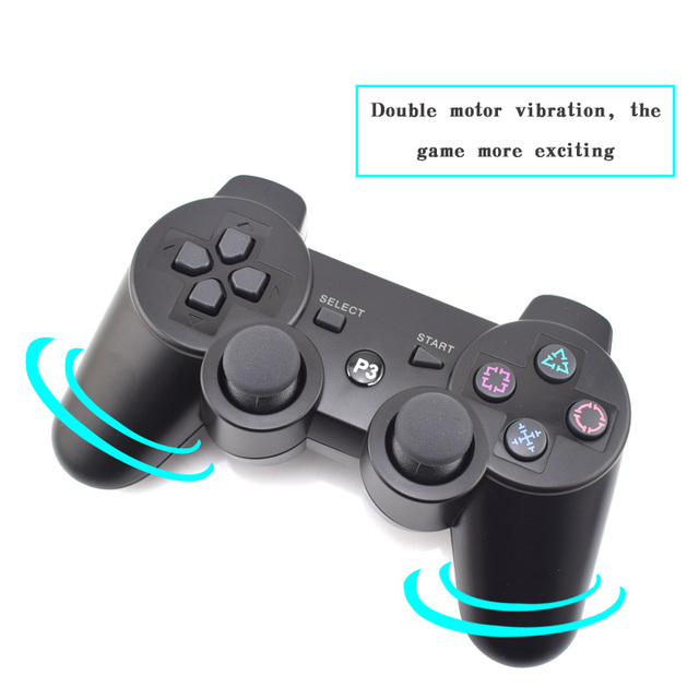 Data Frog For Sony Playstation 3 For PS3 Controller Wireless Bluetooth Gamepad Joystick For Playstation 3 PS3 SIXAXIS Gamepads