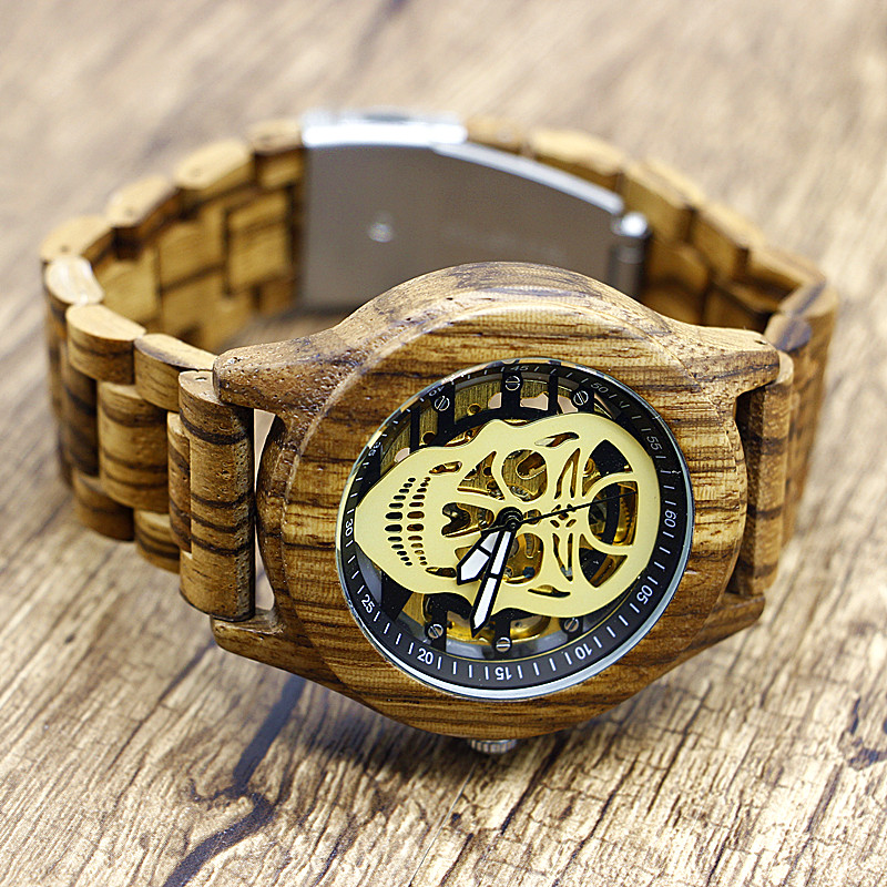Wood Watch Top Brand Luxury Lightweight Natural Wooden Women Fashion Mechanical Wrist Watch Ladies Watch Relojes Mujer JXW-002 bobo bird brand new sun glasses men square wood oversized zebra wood sunglasses women with wooden box oculos 2017