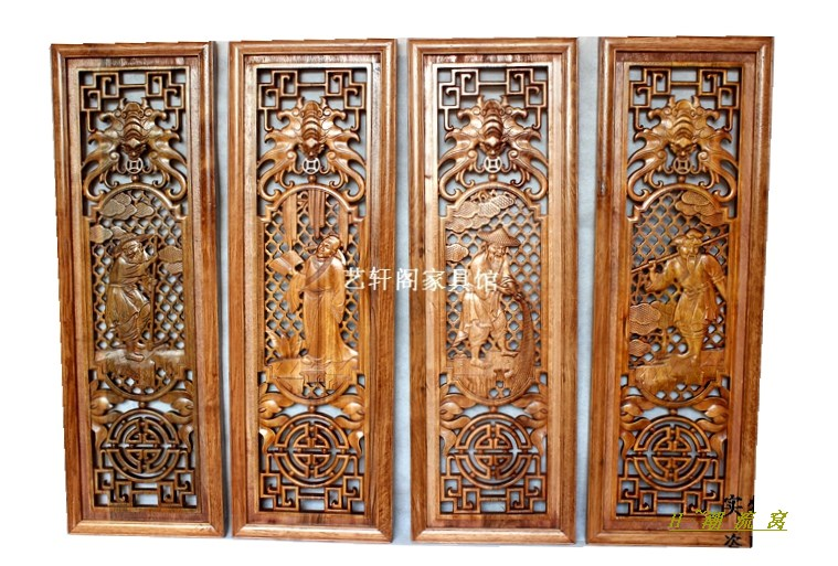 Dongyang woodcarving gentleman farmer, Chinese antique doors and Windows partition wall hanging screen porch camphorwood pendant artittaya phongphom and soparth pongquan farmer s network approach