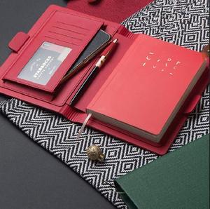 Image 2 - Hoogwaardige Magnetische Knop Ontwerp Business Notebbok Werk Vergadering Offce Reiziger Dagboek Journal Planner Record 88 Lakens Gift A6