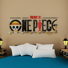 New arrival One piece Icon Crystal acrylic 3d three-dimensional wall stickers Sofa children's room cartoon wall stickers