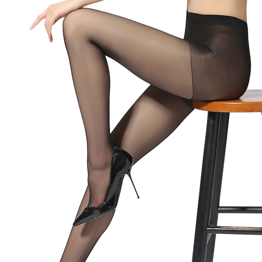 Super Elastic Magical Stockings Women Seamless Sexy Black Thin Pantyhose Ladies Tights Stocking Sheer Mesh Collant Drop Shipping