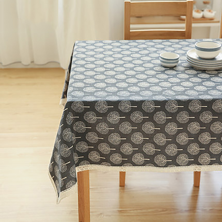 Table Cloth Mesa Round Tablecloth Dining Table Lace Manteles Embroidery  Modern Decoration Doilies Luxury Tablecloths QQO480 In Tablecloths From  Home ...