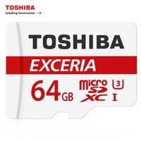 Original TOSHIBA Memory Card 64GB U3 MicroSDHC Max UP 90MB S Micro SD Card UHS I