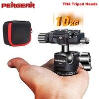 Pergear TH4 Andoer Mini Ball Head Ballhead Tabletop Tripod Stand Adapter w/Quick Release Plate for Nikon Sony Canon DSLR Camera