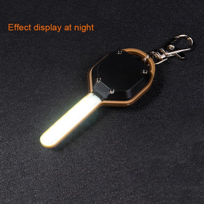 HTB11CSkdlWD3KVjSZKPq6yp7FXa2 Mini LED Flashlight Light Mini Key Shape Keychain Lamp Torch Emergency Camping Light DTT88
