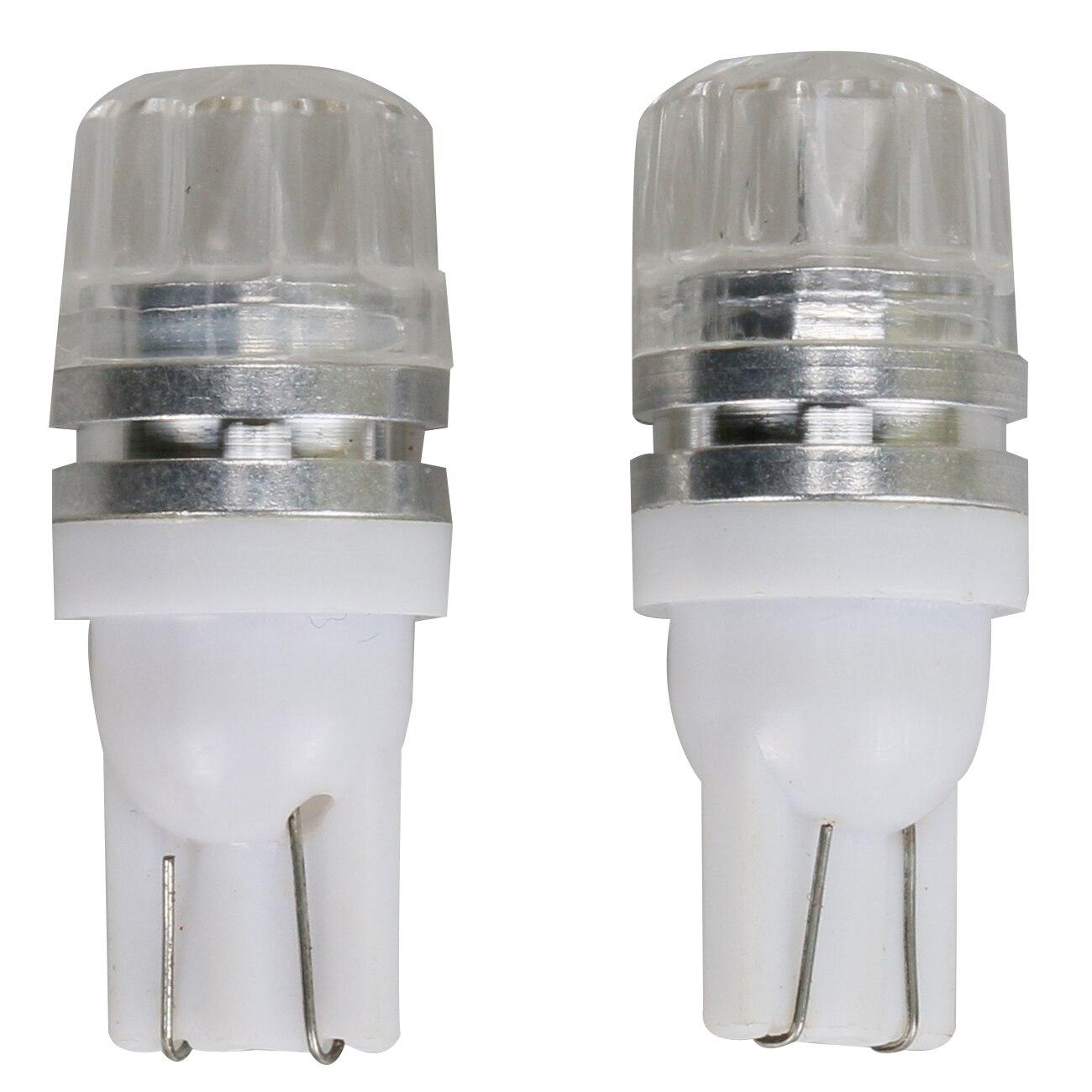 Auto Single Contact Bayonet Lamp Brake Turn Signal Light 5730 T10 SMD LED DC 12V (Pack of 2)