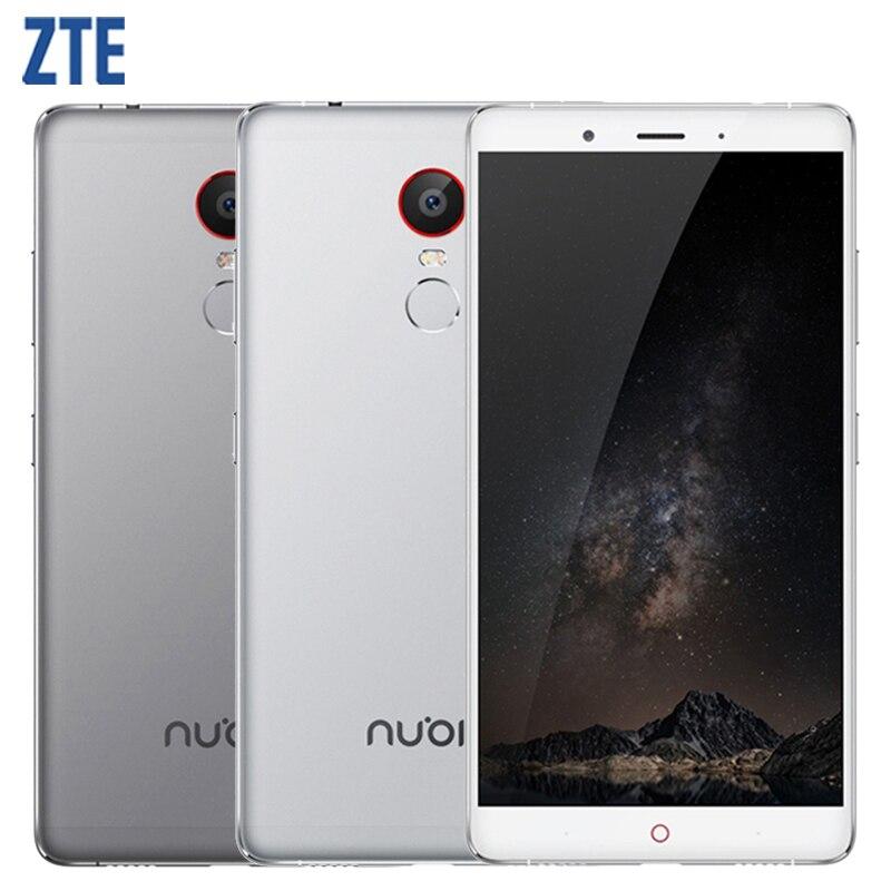 Original ZTE Nubia Z11 Max Cell Phone 3 4GB RAM 64GB ROM Octa Core 13 16MP