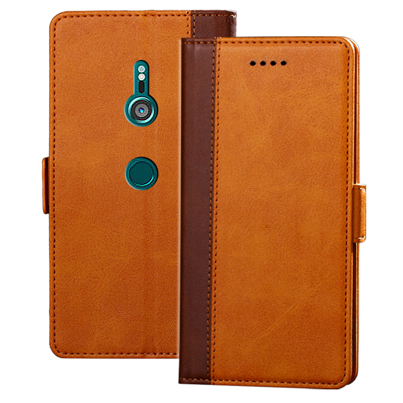 Magnetic Cases For Sony Xperia XZ3 Leather Wallet For Sony X