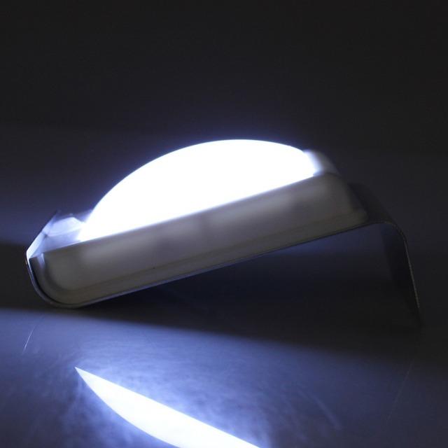 GoesWell 16LEDs LED Solar Light Garden Security Lamp Outdoor Wall Light Human Body Sensor Low Light Level Control