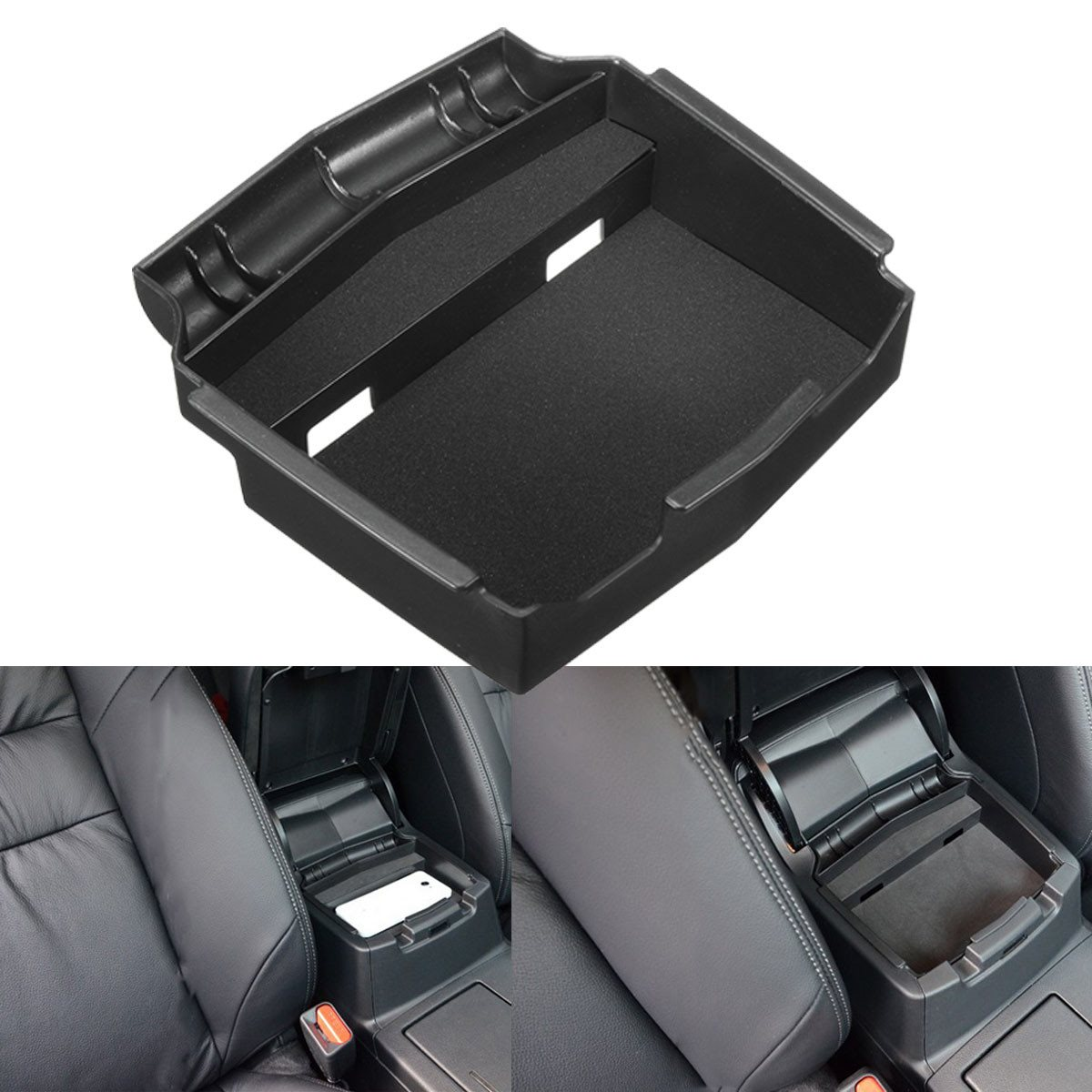 Storage-Box Interior-Accessories Honda Crv Central Stowing Tidying Multifunction Car title=