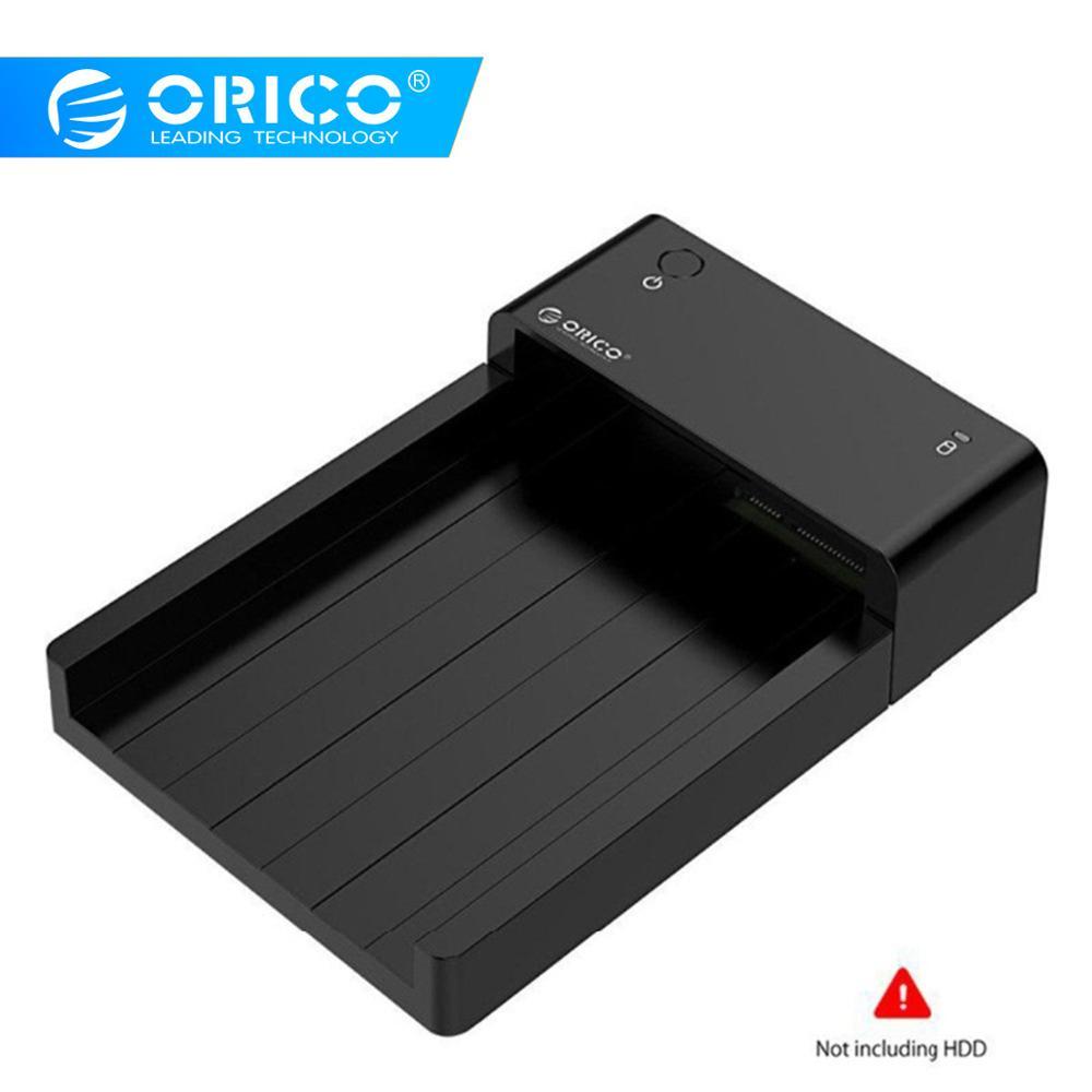 Boîtier ORICO sans outil USB 3.0 Hdd eSATA à 2.5 3.5 pouces SATA disque dur externe Station d'accueil HDD SSD boîtier de boîtier