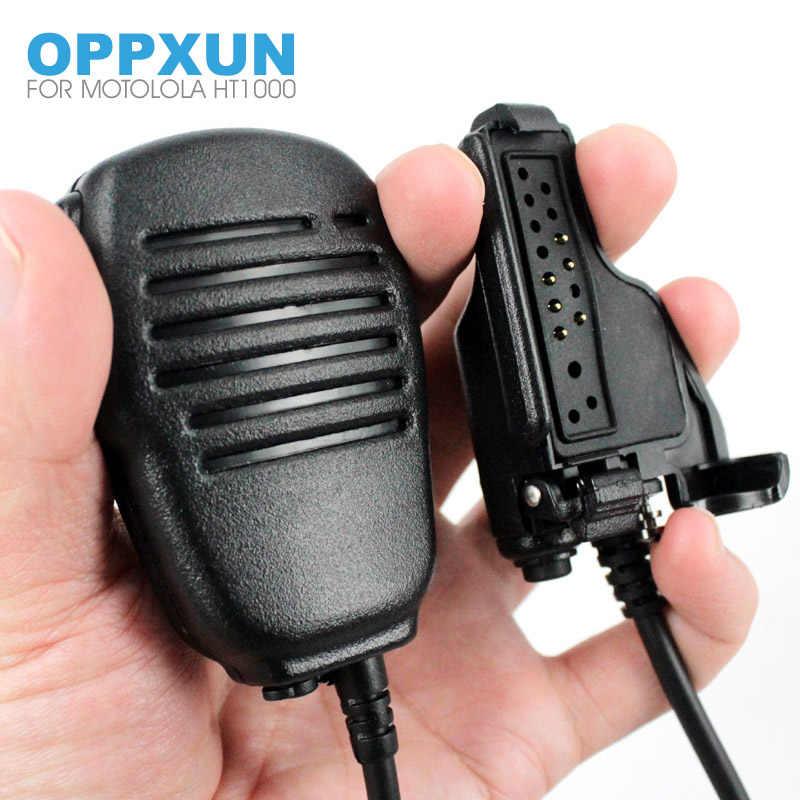 PTT Handheld Speaker MIC Microfoon voor Motorola MTX XTS HT1000 GP900XTS5000 XTS2500 MTS2000 MT2000 Walkie Talkie Walkie Talkie