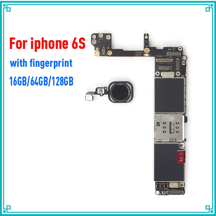 Black/ White/ Gold for iphone 6S 6 S Motherboard with Touch ID,Original unlocked for iphone 6s Logic board+Chips,Good workingBlack/ White/ Gold for iphone 6S 6 S Motherboard with Touch ID,Original unlocked for iphone 6s Logic board+Chips,Good working