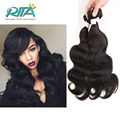 7A Unprocessed Brazilian Body Wave 1 Bundles 50g Virgin Body Wave Cheap Human Hair Weave Soft Beautiful Wave Hair