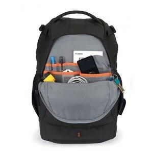 Image 3 - Hurtownie Gopro oryginalna Lowepro Flipside 400 AW lustrzanka cyfrowa zdjęcie z kamery torba plecaki + na każdą pogodę pokrywa darmowa wysyłka