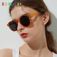 117f0eb54fb Ralferty Retro Round Sunglasses Women Men Vintage Orange Circle Eyewear  UV400 Sun Glasses For Women Shades Points gunes gozlugu