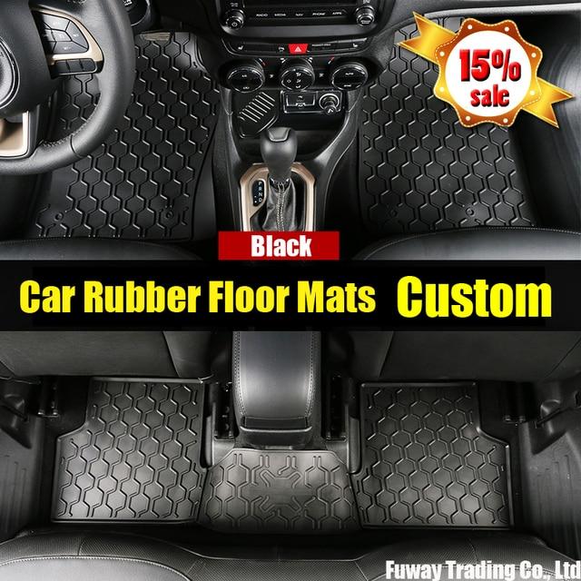 Car Rubber Floor Mats Custom Fit Car Floor Mats Made Waterproof Car Foot Pat For TOYOTA