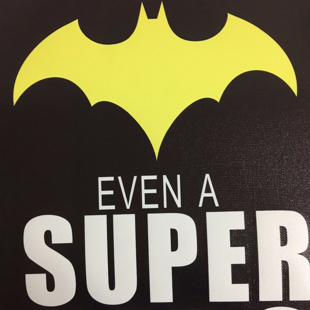 Super Hero Batman Poster Canvas Painting POP Wall Art Nursery ...
