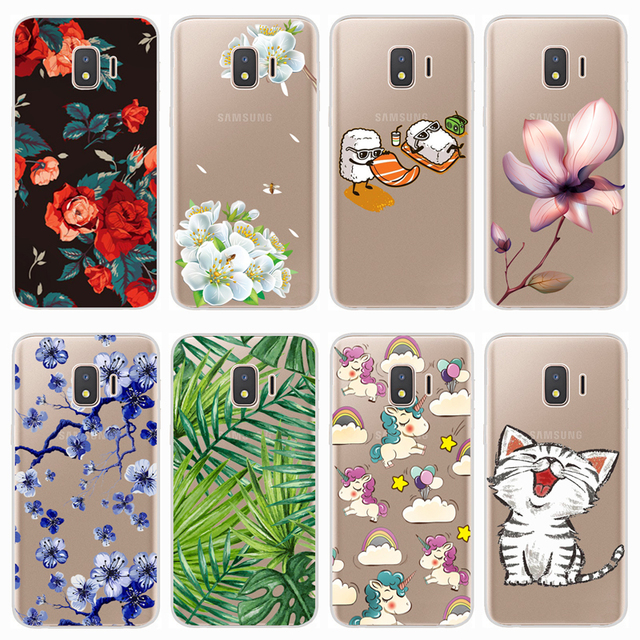 official photos 0057a 7817e Soft Case For Samsung Galaxy J2 Core 2018 Case Colorful Printing Silicone  Phone Back Cases Cover For Samsung J2 Core 2018 J260F