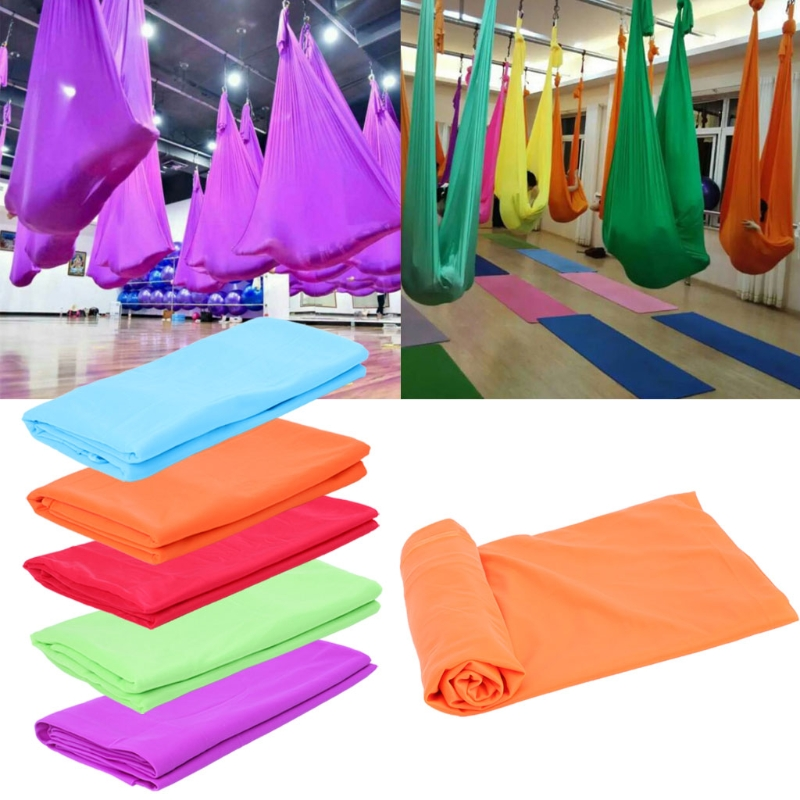 Fitness & Body Building 1m Length Width 2.8m Aerial Flying Yoga Hammock Fabric Swing Trapeze Anti-gravity Inversion Aerial Traction Touch Device 103