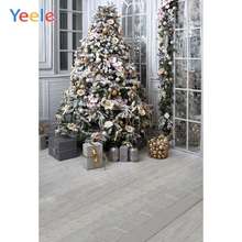 Yeele Photography Backdrops Interior Christmas Trees Gift Room Professional Camera Photographic Backgrounds For The Photo Studio