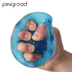 8 отверстий силиконовый держатель для рук усилитель цвет случайный удлинитель для пальцев Тренажер Thera-Band для силовых тренировок в тренажер...