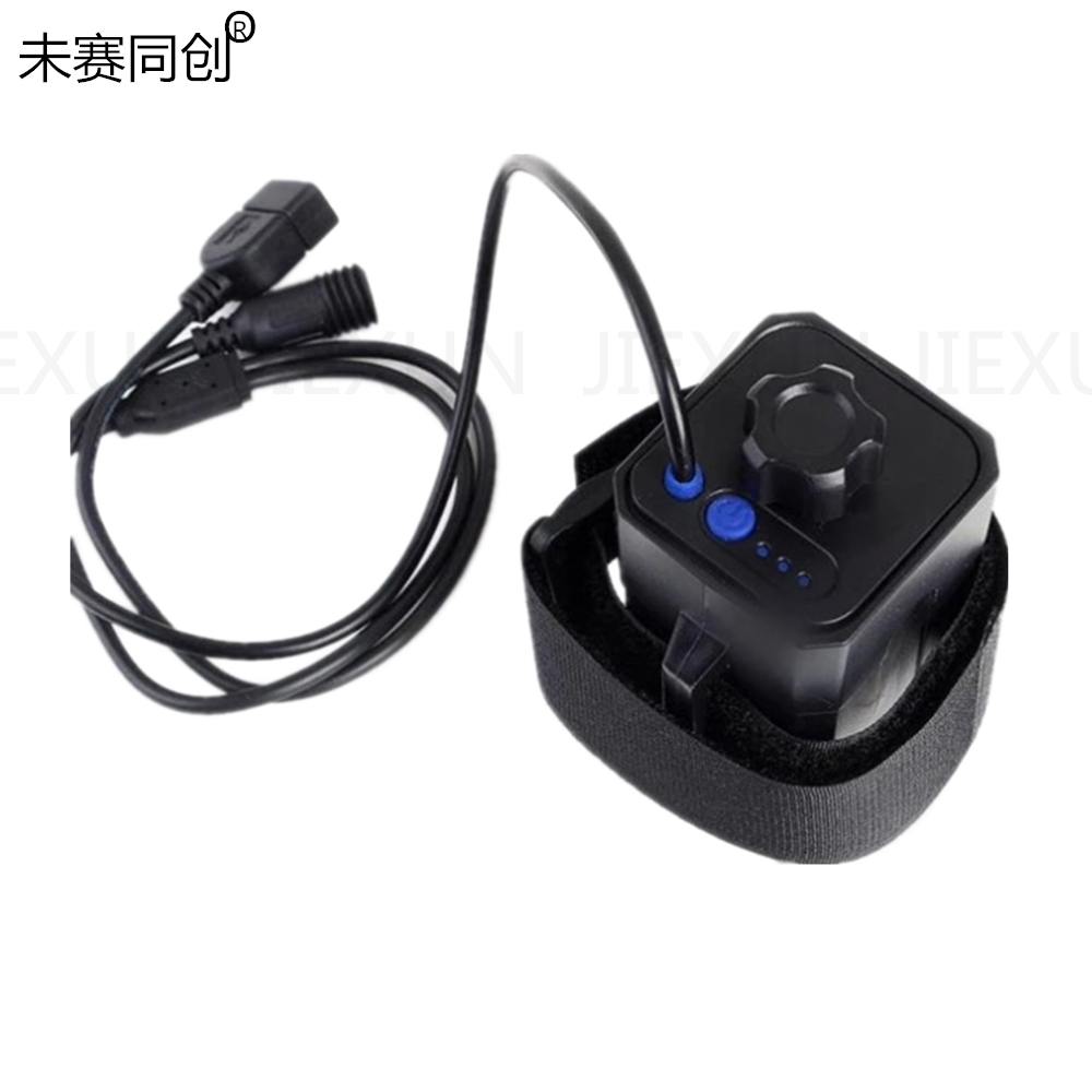 Hospitable The Battery Pack18650 Battery Box High-grade Usb/dc Dual Interface Waterproof Battery Box 8.4v Two And Two Strings