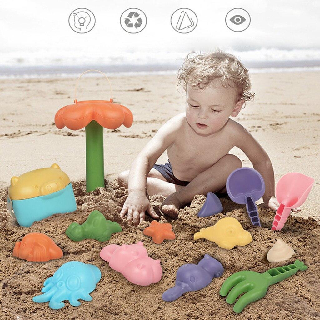10 Pcs/16 Pcs Baby Kinder Strand Spielzeug Schwimmen Waschen Spielen Cartoon Bunte Nette Spielzeug äSthetisches Aussehen