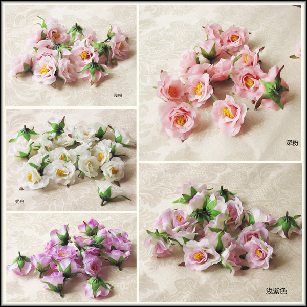 Korean Wedding Flowers: Free Shipping Diy Garland Jewelry Artificial Flower With