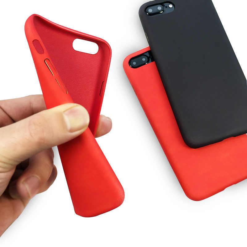 جراب هاتف تحريض حراري لهاتف آيفون X XR XS Max 5 5s SE 6 6S 7 8 Plus حافظة حماية من السيليكون