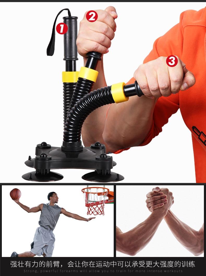Entraîneur de poignet armure équipement de conditionnement physique Force de préhension bras avant-bras Force d'exercice de poignet Force de pince à main forces