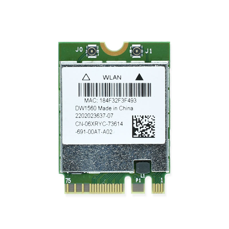 New DW1560 BCM94352Z 2.4&5G 802.11ac M2 NGFF M.2 867Mbps BCM94352 Bluetooth 4.0 WiFi Wireless Network Card