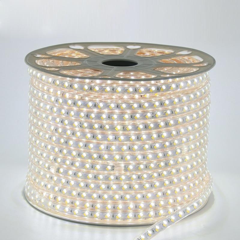 30 m / partia AC110V SMD5730 Taśma Led 5630 Fita De Led 3 Zmiana - Oświetlenie LED - Zdjęcie 6