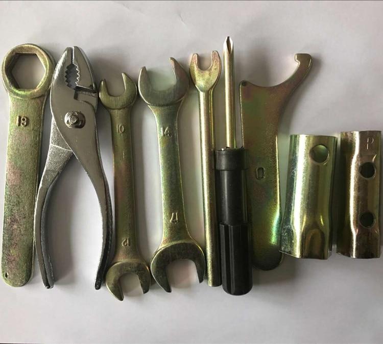 YOFE 9 SZT. Zestaw narzędzi ręcznych do naprawy samochodu Zestaw - Zestawy narzędzi - Zdjęcie 2