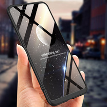 360 Degree Full Protection Hard Case For OPPO Realme 2 Back Cover shockproof case + glass Film Realme2