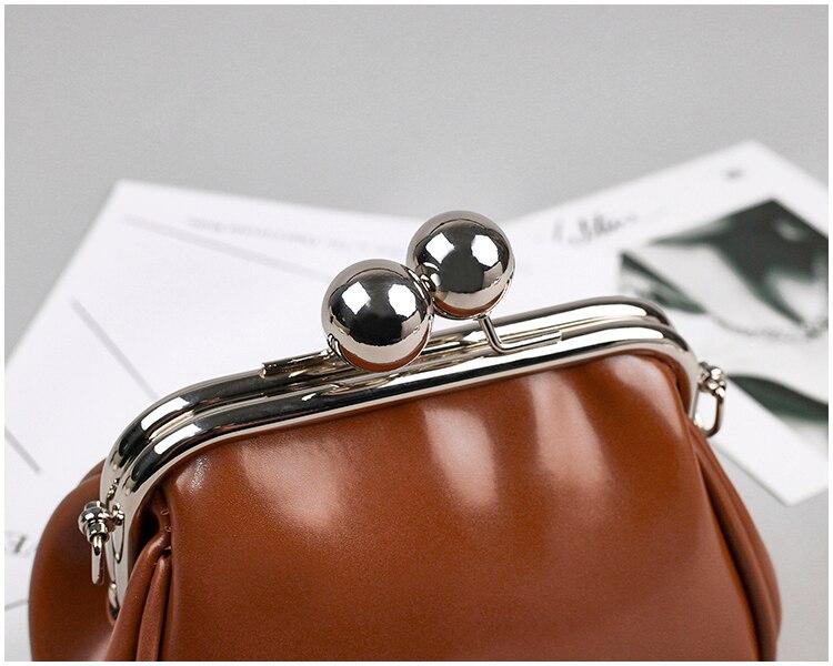 bags women leather shoulder crossbody bag women's handbag kiss lock bag (22)