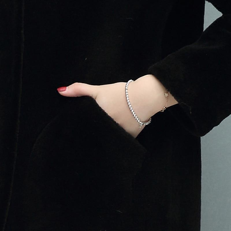 Hiver Arrière D'hiver 2018 Mouton Vraie La De Chapeau Pour Manteau Manteaux Fille Fourrure Black Veste Femmes Vestes gules Femme Des Grand SqqdAf