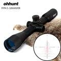 Caza ohhunt FFP 4,5-18X44 X SFIR Primer plano Focal de la óptica visores lado Parallax R/G de vidrio alcance de reinicio de bloqueo de retícula grabado