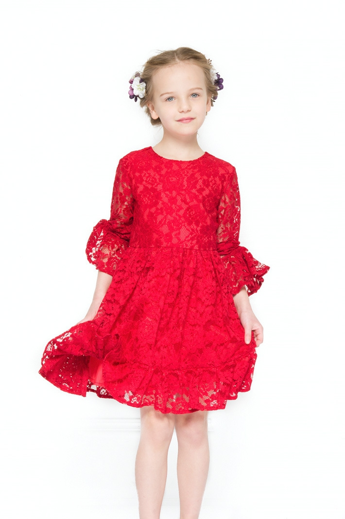 Подробнее о Girls Summer Dresses Lace Kids Clothes 2017 Brand Children Princess Dress for Girls Costume Long Sleeve Robe Fille Girls Clothes baby girl dress 2016 brand girls summer dress children clothing lemon print kids dresses for girls clothes robe princesse fille