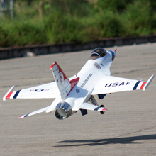 Freewing 90 мм RC струйный F-16 комплект Thunderbird