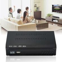 1 Unids Full HD DVB-S2 HDMI DVB-S/S2 MPEG-2/4 H.264 Señal de Radiodifusión de Vídeo Digital Receptor de TV Por Satélite Box Set OD # S