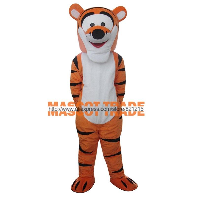 Tigger Mascot Costume Cartoon Mascot Costume Character Costume Free Shipping