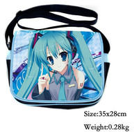 Anime Cartoon Hatsune Miku Idea Finger Messenger Bag Shoulder Bag Satchel Hnadbag