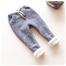Spring Toddler Girl Pants Elastic Solid Casual Kids Trousers Girls Autumn & winter Children Baby Pants Leggings