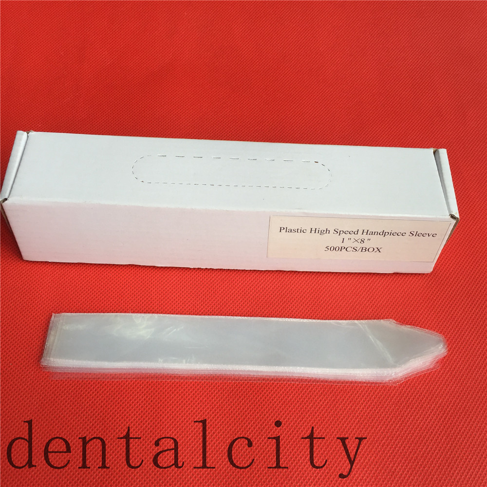 New Dental High speed handpiece Disposable protective sleeves for infection control 500pc