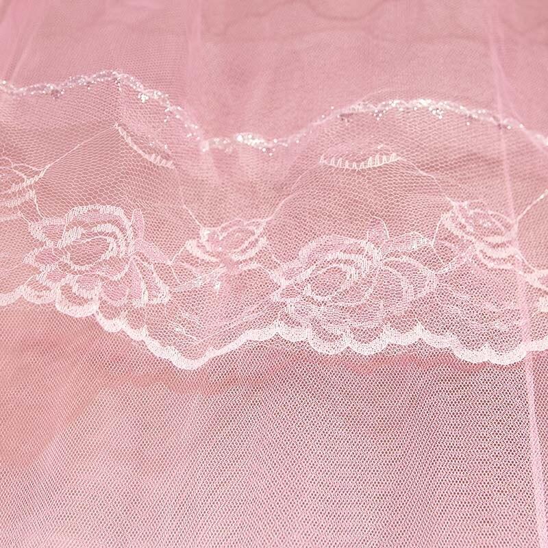 prinsessan sängtak himmel rosa insekt myggdörr fönster nät skärm - Hemtextil - Foto 6