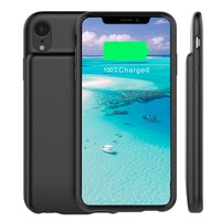 5000mah Battery Charger Case with Audio For iPhone XR External Backup Charger Protective Phone Shell
